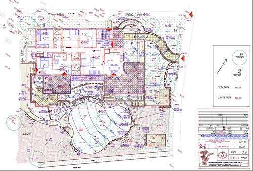 גלריית תכנון גינות - תכניות